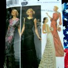 Simplicity Pattern # 5876 UNCUT Misses Gown Evening Dress with Ruffle Size 6 8 10 12