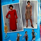 Simplicity Pattern # 2550 UNCUT Misses Dress Bodice Variations Size 4 6 8 10 12
