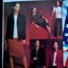 Vogue Pattern # 7686 UNCUT Misses Jacket Top Dress Skirt Pant Wardrobe Size 14 16 18