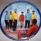 "Star Trek ""Beam Us Down Scotty"" 1983 Hamilton Collection Plate"