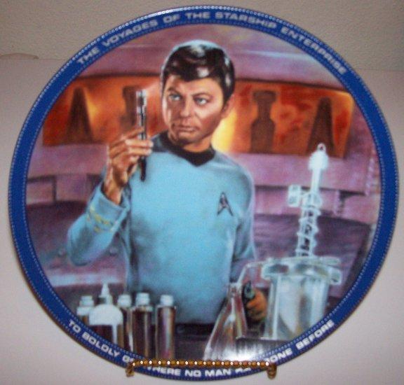 "Star Trek ""Dr. McCoy"" 1983 Hamilton Collection Plate"