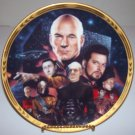 "Star Trek Next Generation ""Episodes-Best of Both Worlds"" 1994 Hamilton Collection Plate"