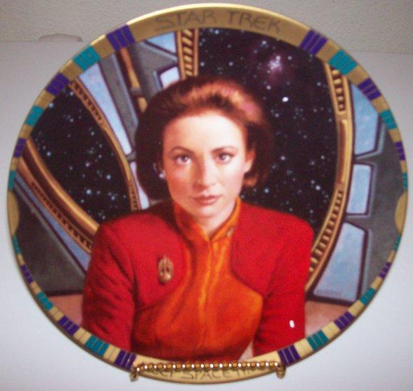 "Star Trek Deep Space Nine ""Major Kira Nerys"" 1994 Hamilton Collection Plate"