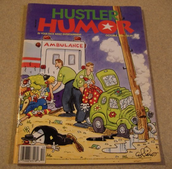 Hustler Humor October 1994 Adult Comic $6!!!