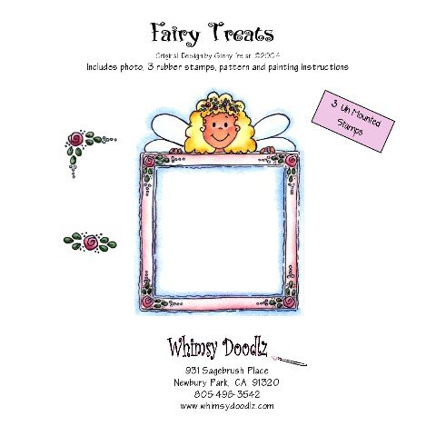 Fairy Treats Rubber Stamp Set