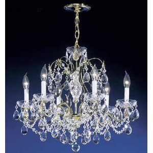 Promotion Collection Crystal Chandelier 6 light by James Moder Lighting
