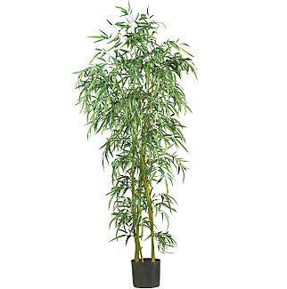 6' Fancy Style Slim Bamboo Silk Tree