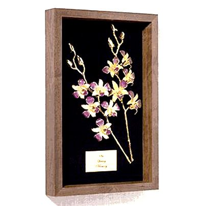 """Lovely Orchids 14"""" Remembrance Box"""