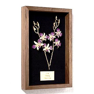 """11"""" Orchids of Love Remembrance Box"""