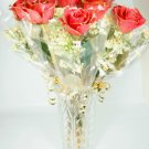 "Twelve 18"" Real Roses."