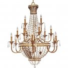 Palais Imperial Gold Eighteen-Light Chandelier