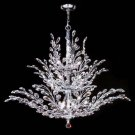 Crystal Florale Eighteen Light Chandelier