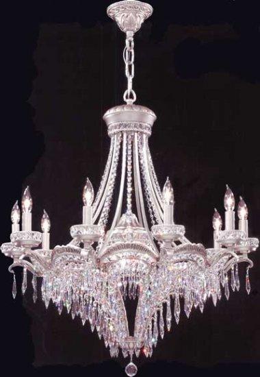 Crystal Dynasty Ten Light Chandelier