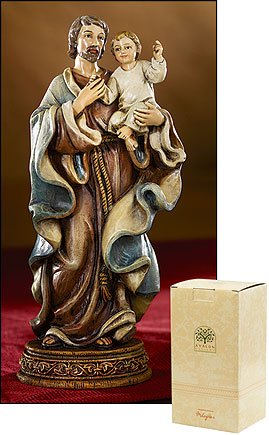 Saint Joseph with Child Statue