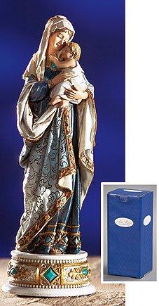 Madonna and Child Musical Figurine