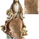 Christ with Footprints Figurine