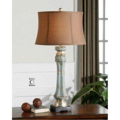 Uttermost Deniz Blue - One Light Table Lamp