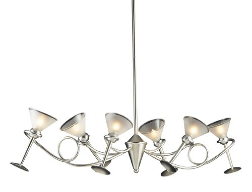 Martini - Six Light Chandelier by Elk Lighting