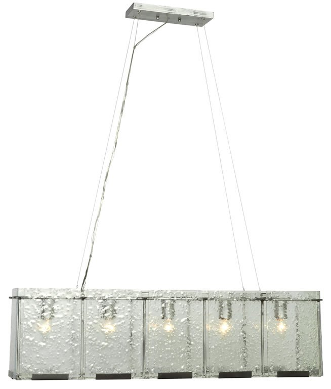 Rain - Five Light Linear Pendant by Varaluz Lighting