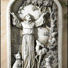 Saint Francis Plaque.