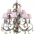 Renaissance Twelve Light Chandelier from the Royal Collection