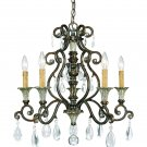Savoy House - 1-3001-5-8 - St. Laurence - Five Light Chandelier