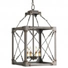 Currey & Company Salvage - Four Light Hanging Lantern