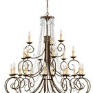 SOHO Chandelier 5219 by Crystorama Lighting