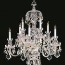 10 Light Traditional Crystal Chandelier