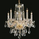 Crystorama Traditional Crystal 5 Light Chandelier