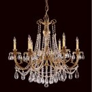 Etta Cast Brass 476 Chandelier