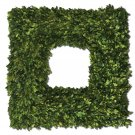 Preserved Boxwood - Square Wreath by Uttermost