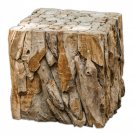 Teak Root, Bunching Cube by Uttermost