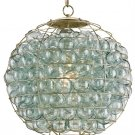 Currey and Company Pastiche - One Light Orb Pendant