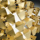 Zaneen Lighting - D8-2100G - Agave - Three Light Flush Mount