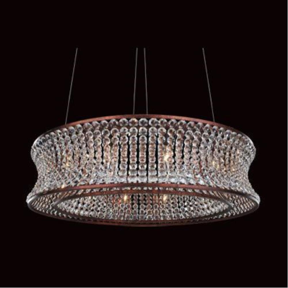 Allegri Lighting - 11732 - Corsette - Twelve Light Round Pendant