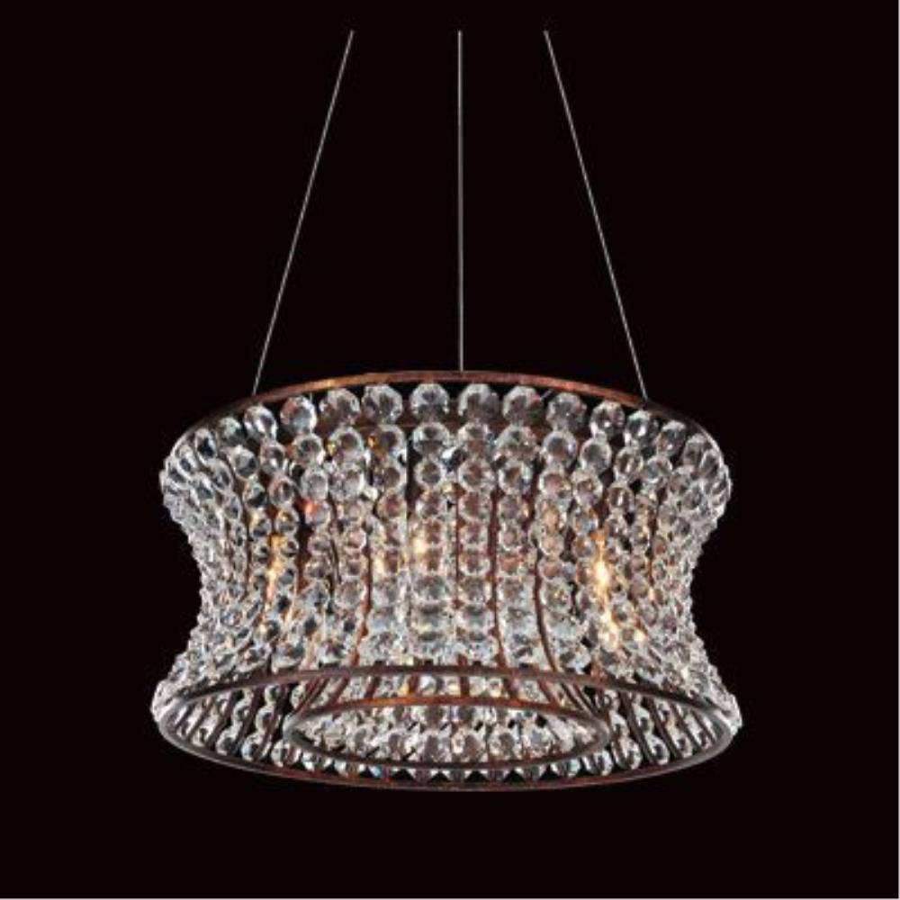 Allegri Lighting - 11730 - Corsette - Six Light Round Pendant