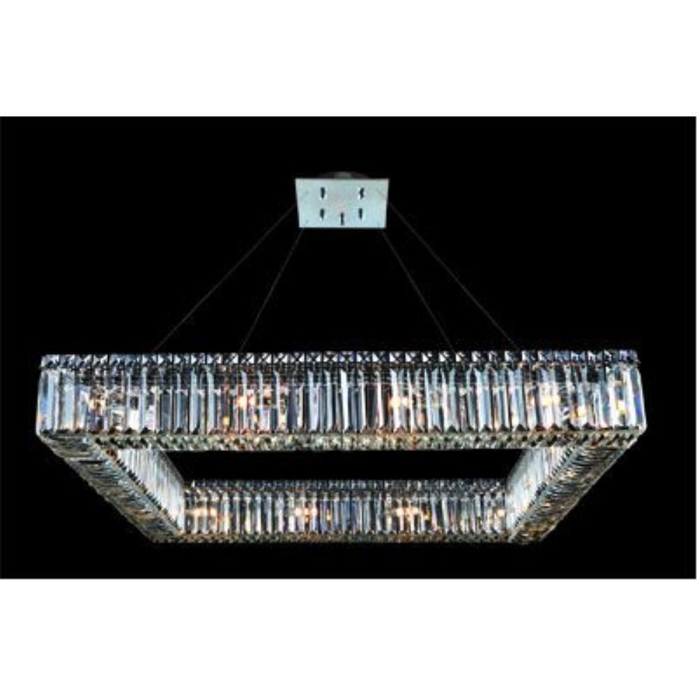 Allegri Lighting - 11712 - Quantum Quadro - Sixteen Light Square Pendant