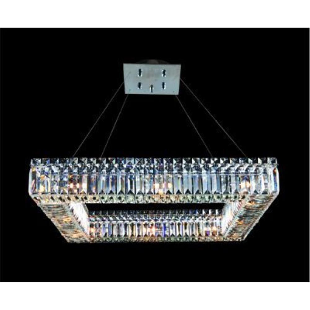 Allegri Lighting - 11711 - Quantum Quadro - Twelve Light Square Pendant