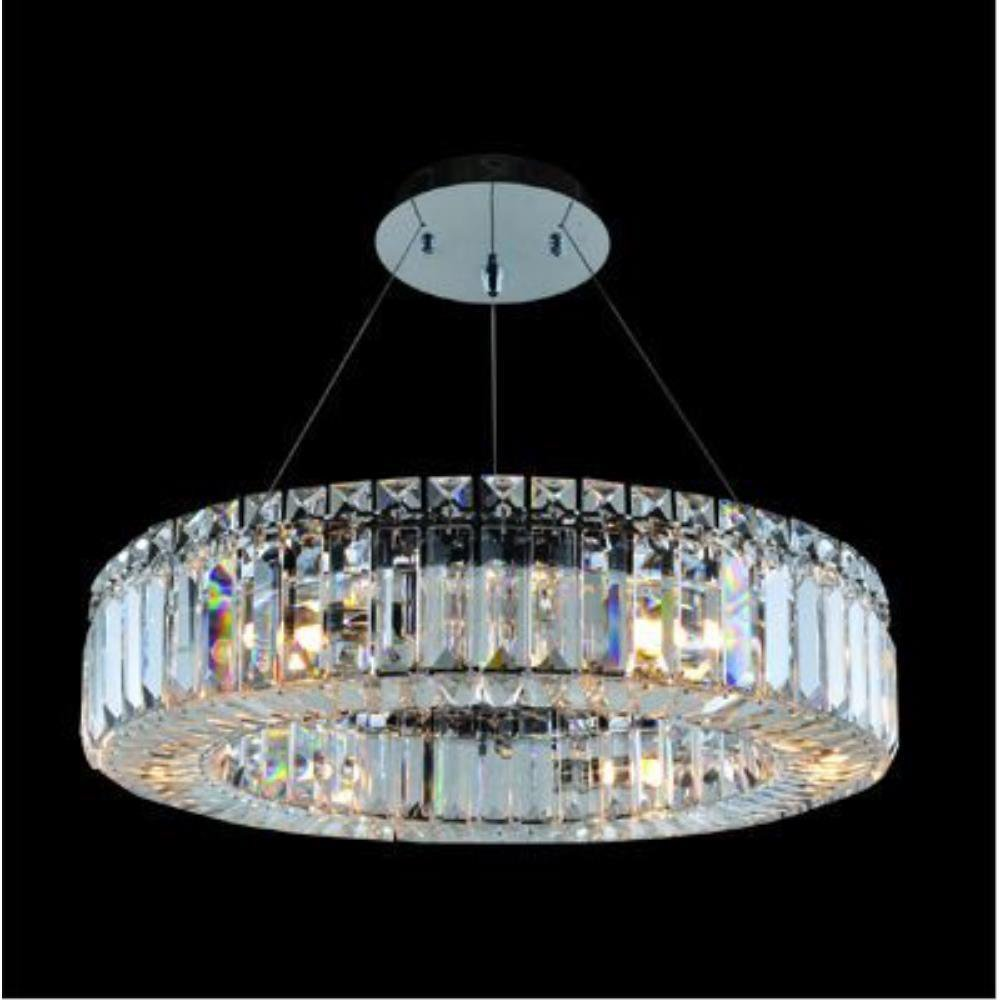 Allegri Lighting - 11703 - Quantum Rondelle - Six Light Round Pendant