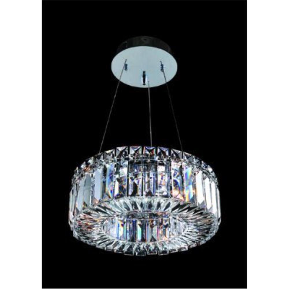 Allegri Lighting - 11702 - Quantum Rondelle - Three Light Round Pendant