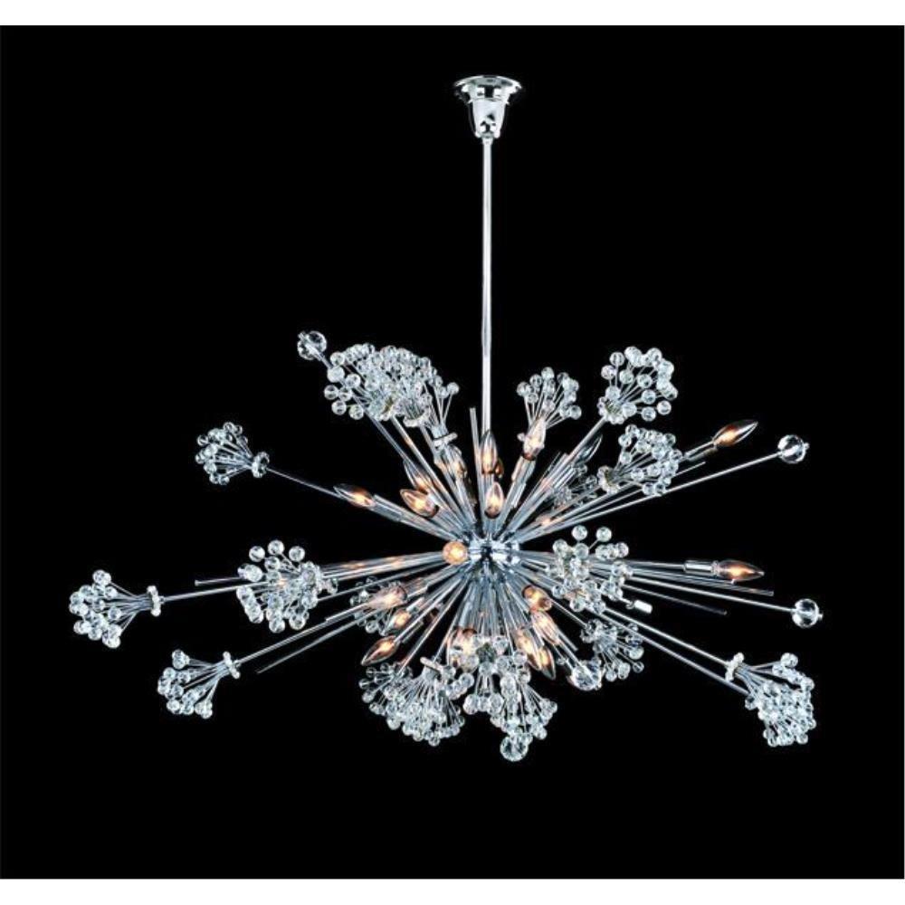 Allegri Lighting - 11635 - Constellation - Thirty Light Oval Pendant