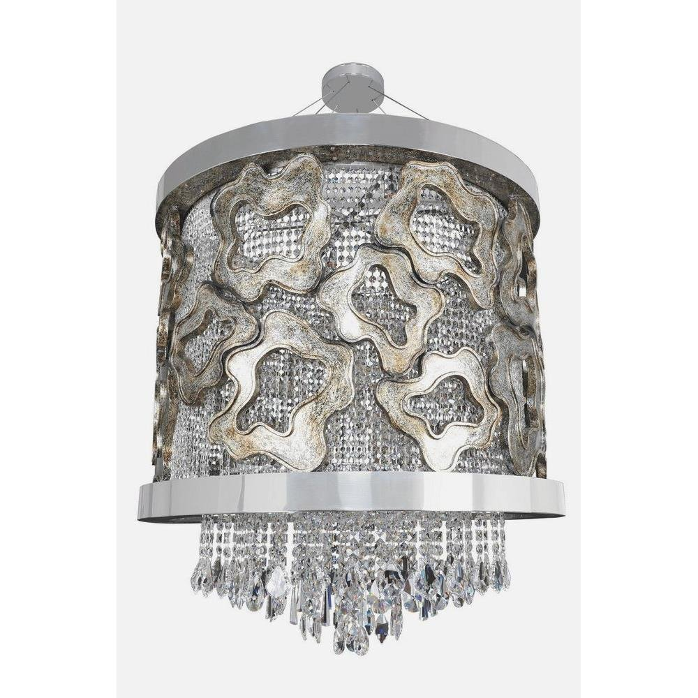Allegri Lighting - 022351 - Caravaggio - Nine Light Pendant
