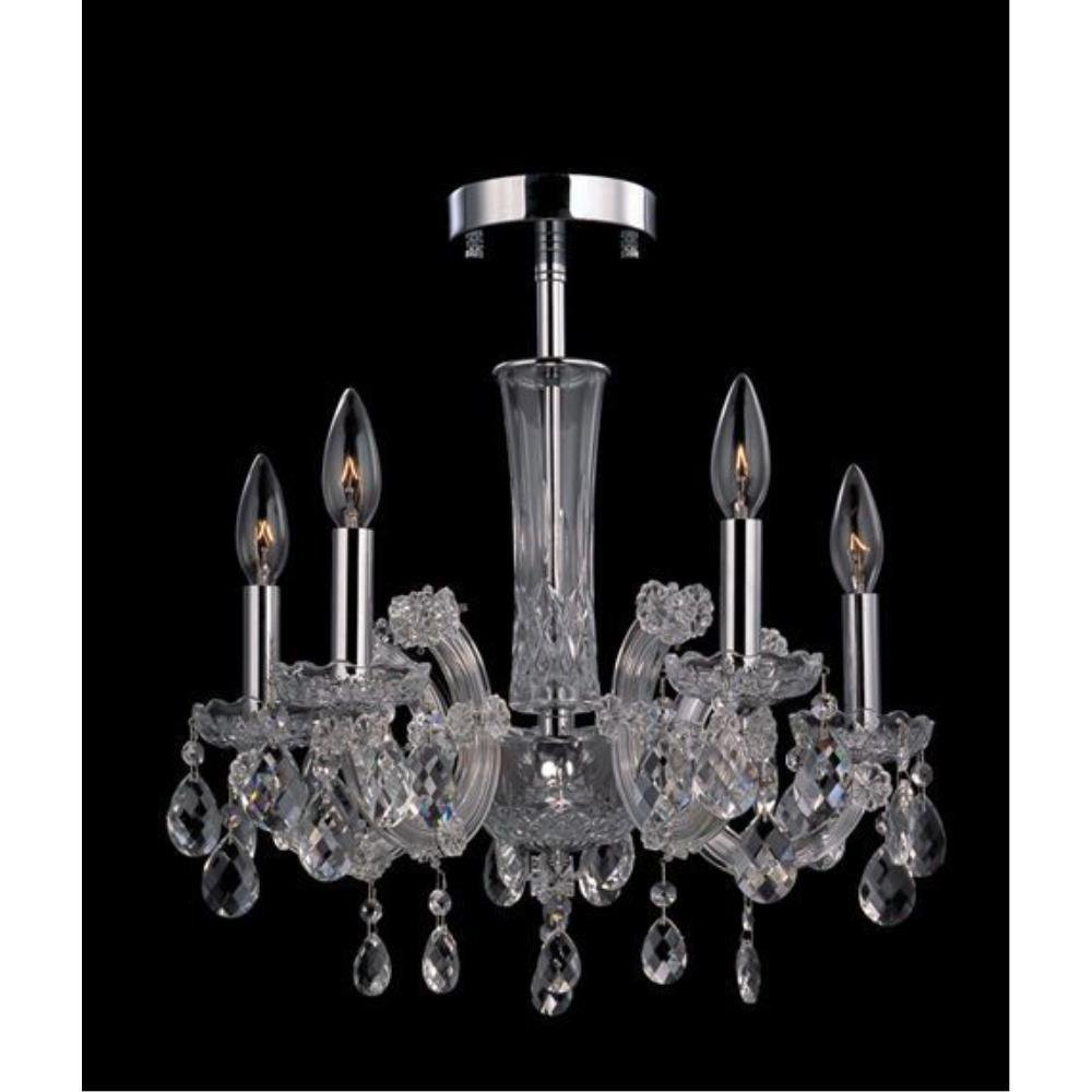 Allegri Lighting - 10390 - Pietro - Five Light Semi-Flush Mount