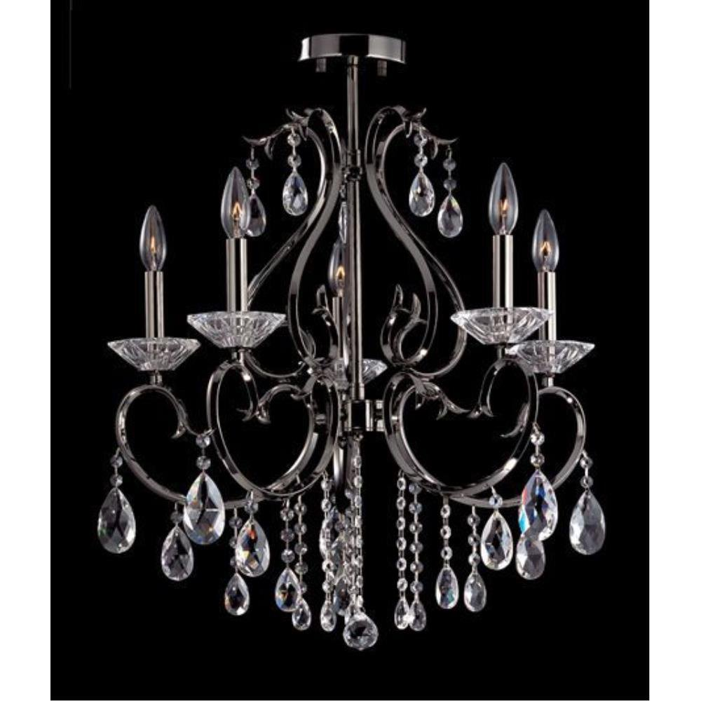 Allegri Lighting - 10899 - Donizetti - Eight Light Semi-Flush Mount