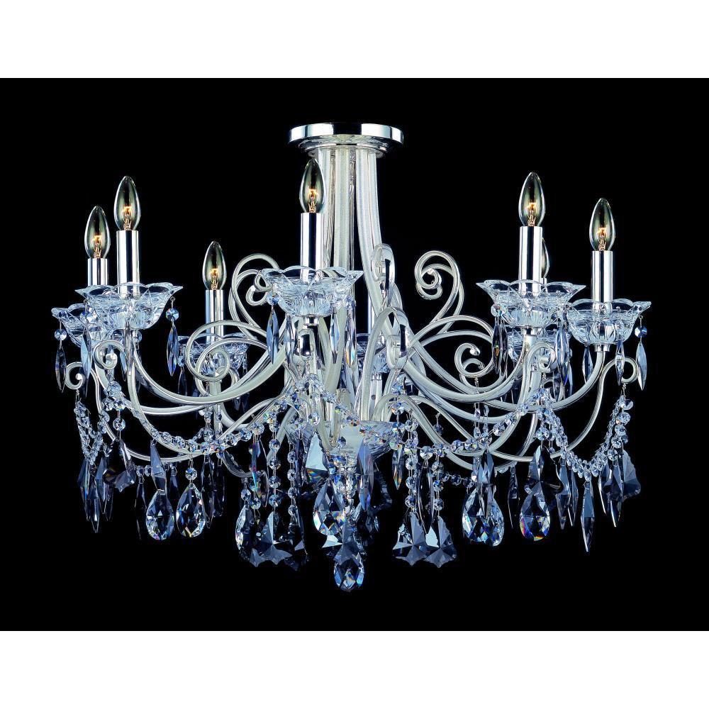 Allegri Lighting - 10888 - Brunetti - Eight Light Semi-Flush Mount