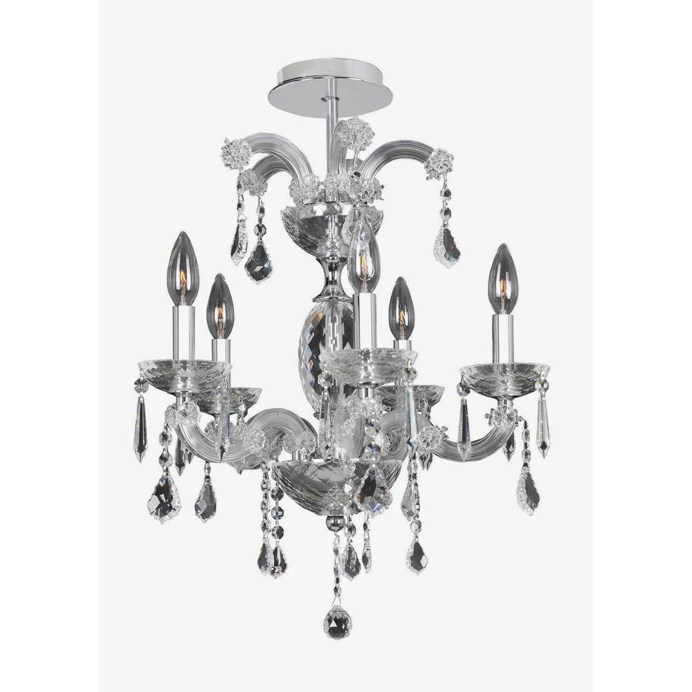 Allegri Lighting - 10230 - Giordano - Five Light Flush Mount