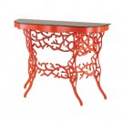 "Currey and Company The Marjorie Skouras - 43"" Corail Console Table"