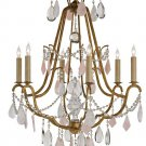 Currey and Company - 9271 - Fairytale - Six Light Chandelier