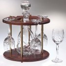 Crystal Wine Set.